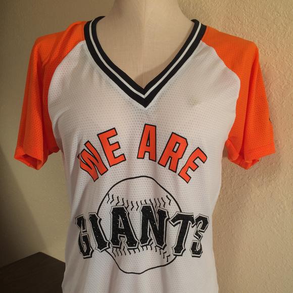afefca1c118 Victorias Secret PINK San Francisco Giants T-Shirt